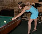 Hotties like pool!